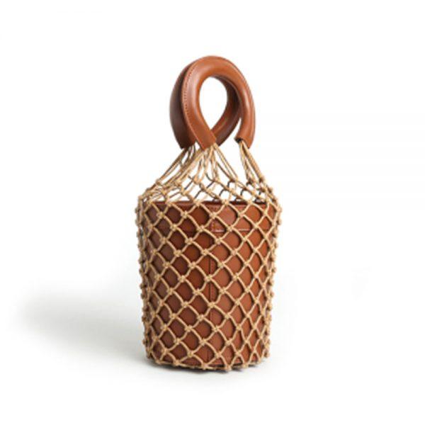 Bolsa feminina de couro Ella-Coral-Concept