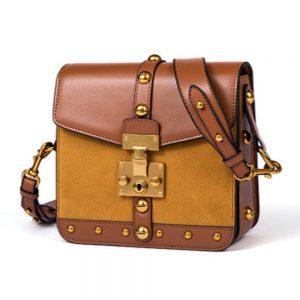 Bolsa feminina de couro Ella-Coral-Everyday