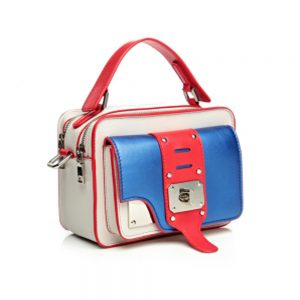 Bolsa feminina de couro Ella-Coral-Sports
