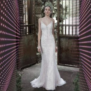 Vestido de noiva feito a mão ELLAWEI-SC-073 2019