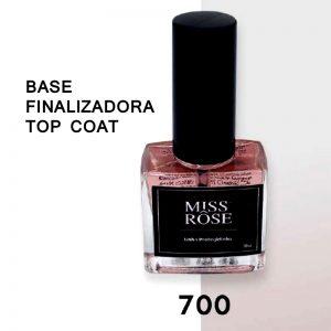 BASE FINALIZADORA-TOP COAT-700-MISS RÔSE