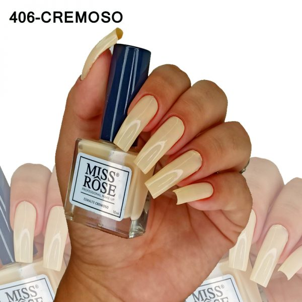 ESMALTE MISS ROSE 406 - CREMOSO SUMMER