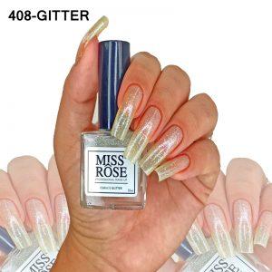 ESMALTE MISS ROSE 408 - GLITTER