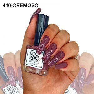 ESMALTE MISS ROSE 410 - CREMOSO AUTUMN