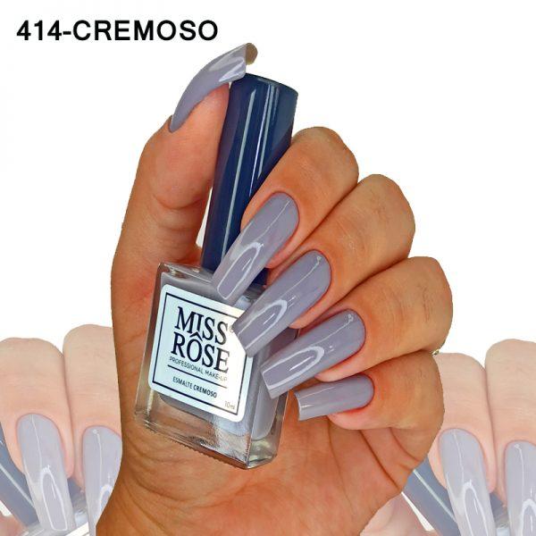 ESMALTE MISS ROSE 414 - CREMOSO WINTER